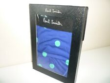 Paul Smith Men's Blue Spotted Boxer Trunk Underwear New Size S