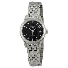 Longines  Flagship  Automatic Black Dial Stainless Steel Ladies Watch L42744526