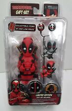 Marvel - Deadpool Gift Set Body Knocker, Scalers, Earbuds, Hubsnaps New In Box