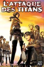Attaque des Titans (l') Vol.4 (isayama Hajime) | Pika