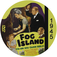 "Fog Island (1945) Classic Horror and Mystery CULT ""B-Movie"" DVD"