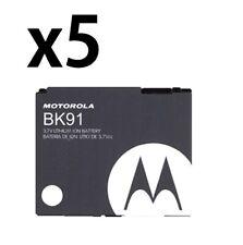 5x Oem Motorola Extended Battery Bk91 / Snn5758A for Vu204, Z6c, Slvr L7c,V750