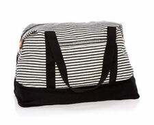 Thirty one Retro Metro Weekender travel gym Duffel bag 31 gift in Twill Stripe e