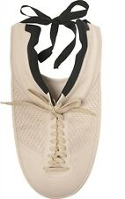 MAISON MARTIN MARGIELA OFF-WHITE PLASTRON SNEAKER LACE-UP LEATHER NECKLACE