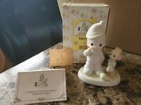 "Annual/Easter Seal/Mint Precious Moments ""Somebody Cares"" 522325"