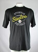Pittsburgh Steelers Men's XLT-4XL Big & Tall Cotton Shirt Black NFL