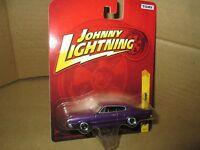 66 CHARGER DODGE FASTBACK JOHNNY LIGHTNING 1966 CAR 1/64 19 PURPLE