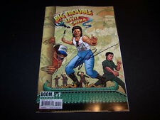 SIGNED ERIC POWELL BIG TROUBLE IN LITTLE CHINA #1 JACK BURTON COVER B VARIANT