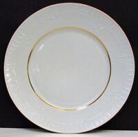 6 Furstenberg Philippine Schlob Blankenburg Gold Band Dessert Salad Plates