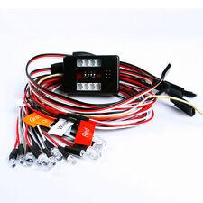 Light Kit Brake+Headlight + Signal LED For RC Car truck 1/10th 2.4ghz PPM FM