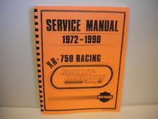 Harley-Davidson XR 750 Race Competion  Service Manual