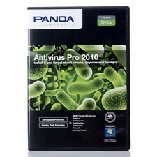 PANDA ANTIVIRUS PRO 2010 WITH FREE UPGRADE TO  2013  SHRINK WRAP 1 USER 1 YEAR