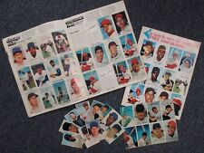 1970  Sports Stars  Album with 163 Photo-Stamps (ROBERTO CLEMEMTE)w/UNUSED SHEET