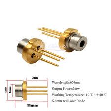 Metal 650nm 5mw 56mm Red Ir Laser Diode 2 22v To 18 Light Emitting Diode