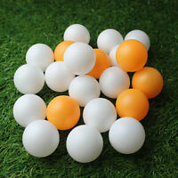 100/150Pcs 40MM Ping Pong Balls Table Tennis White Orange Training Sporting