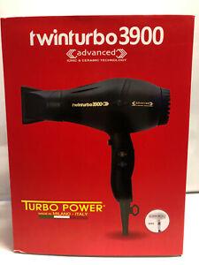 Power Twin Turbo 3900 Advanced Hair Dryer Ionic and Ceramic+Free Flat Iron