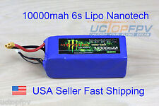 Monster Nano Tech 6S 10000 mAh Lipo Battery 22.2v 35c DJI S800 S900 S1000 S1000+