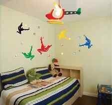Football Soccer Player Removable Wall Sticker Vinyl Decal Room Home Mural Decor