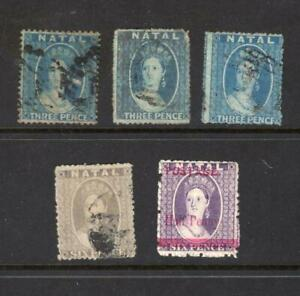 Natal - Small Lot of Early Stamps - No Reserve!
