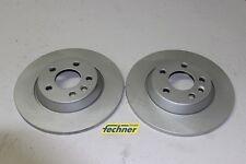 2x Bremsscheibe hinten HA Satz VW Sharan 7M Optimal BS-7972C Brake Disk Set rear