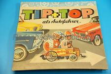 Popup Livre pour enfants Tip & Top que les automobilistes de Kubasta 1962 (g914