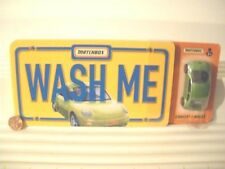 Matchbox 2000 WASH ME VW Volkswagen Concept 1 with Pleasant Company Book NuPkged