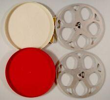 2 Super-8 Filmspulen Alu 360 m * 1 Dose für 360 m