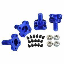 MicroHeli MHE-35QX301PA Blue Aluminum Precision CNC Prop Adapters: Blade 350 QX
