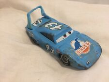 Disney Pixar Cars RACE DAMAGED KING #43 1:55 MATTEL Diecast TOKYO DRIFT MATER X