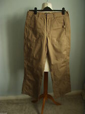 Cotton Chinos Plus Size 30L Trousers for Women