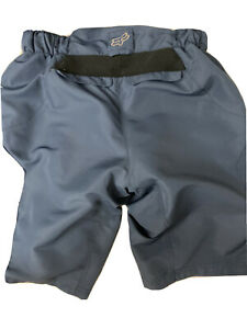 Fox and serfas mountain bike padded shorts