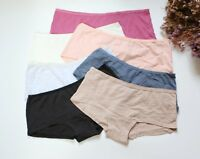 Women Sexy Briefs Solid Cotton Underwear Boyshorts knickers Lingerie panties S-M