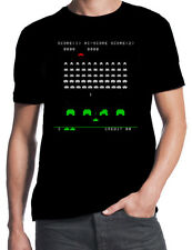 Space Invaders Screenshot Classic 70's 80's Arcade Game Nerd Geek Party T-Shirt