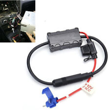 Universal 12V Car FM Radio Stereo Antenna Signal Amplifier Booster Receiver Fuse