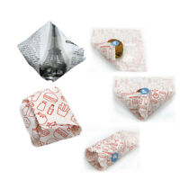 50pcs Baking Paper Bread Cake Cookies Packaging Burgers fries Wrapping Paper