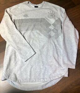 hellgraues Sweatshirt DFB - adidas - Gr. M