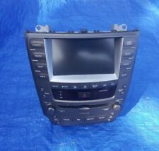 2006-2009 Lexus IS250 IS350 Radio Navigation Climate Control Display 06 07 08 09