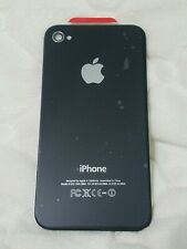 Apple iPhone 4 A1332 Back Battery Cover Glass Housing Replacement Black NEW
