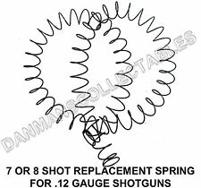 REPLACEMENT SPRING FOR 7 OR 8 SHOT EXTENSION TUBES IN 12 GAUGE (NEW)!