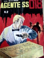Agente SS 018 n°2 1965 ed. CORNO [G.147]