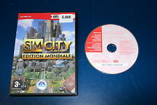 JEU PC CD-ROM SIM CITY EDITION MONDIALE HITS COLLECTION  S/NOTICE EA GAMES