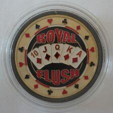 ROYAL FLUSH gold color Poker Card Guard Protector