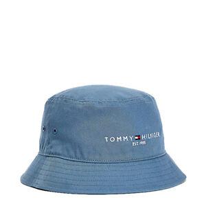 Tommy Hilfiger Established Bucket Hat Colorado Indigo - NEW
