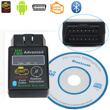 ELM327 V2.1 HH OBD 2 OBDII Car Auto Bluetooth Diagnostic Tool Interface Scanner