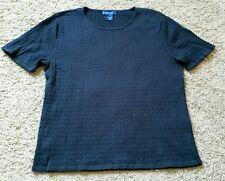 Karen Scott Shirt size medium M - black