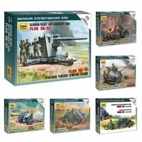 "Model Kits ""German artillery pieces / ordnance with Crew WWII"" 1:72 Zvezda"