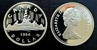 Canada 1984 Voyageur Proof Gem UNC Nickel Dollar!!