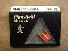 794-D7 Stereo Mono Needle Pfanstiehl For Fisher Sanyo ST-66D Free US Shipping