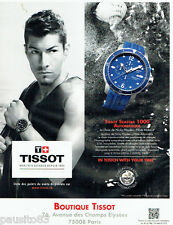 PUBLICITE ADVERTISING 056  2011  la montre Tissot seastar aquatique Nicky Hayden