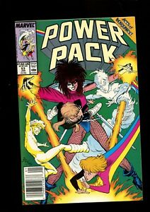 POWER PACK 53 (9.6) NEWSSTAND VS TYPHOID MARY MARVEL (B058)
